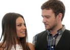 Timberlake admitted that it is hard for him next to Mila kunis